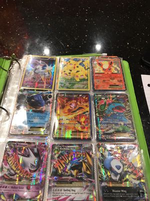 Pokémon card collection 28 Ex 11 Mega's 7 fullart's 7 fullart Ex's 5 fullart Mega's 6 Gx 6 Secret rare's 2 Secret rare Ex 1 Lugia Legend Break 5 Lv x for Sale in Fairfax, VA