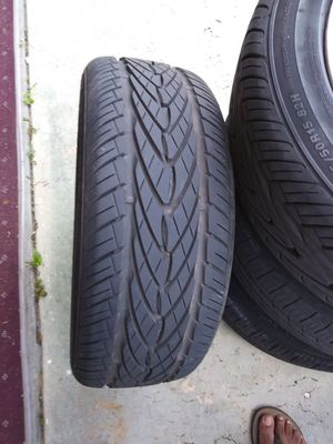 4 - 15inch rims with tires for Sale in Orlando, FL