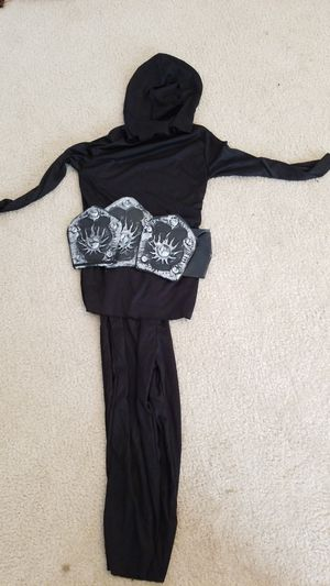 Halloween Costume- black Ninja costume for Sale in Alpharetta, GA
