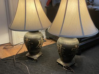 Asian Decor/Lamps for Sale in Groveport,  OH