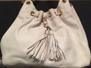 White leather Michael Kors purse for Sale in Houston, TX