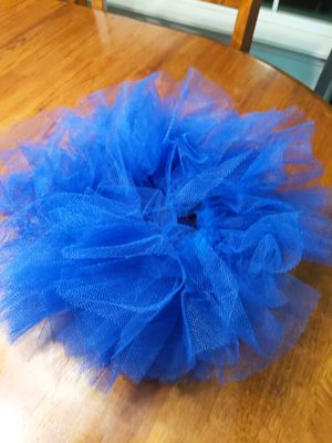 2 blue tutus Halloween accessory for Sale in Chico, CA