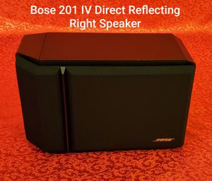Bose 201 Series IV Direct Reflecting Bookshelf •RIGHT• Speaker Tested/Working for Sale in Charlotte, NC