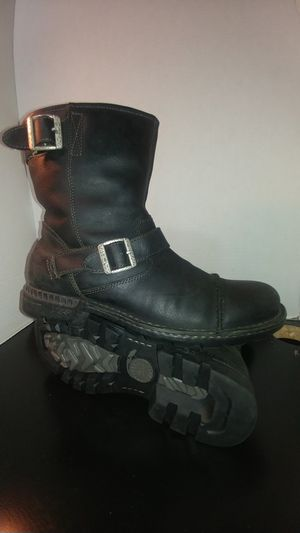 Men's motorcycle harness leather Ugg boots for Sale in Boston, MA