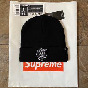 Supreme NFL Beanie Blk for Sale in Las Vegas, NV