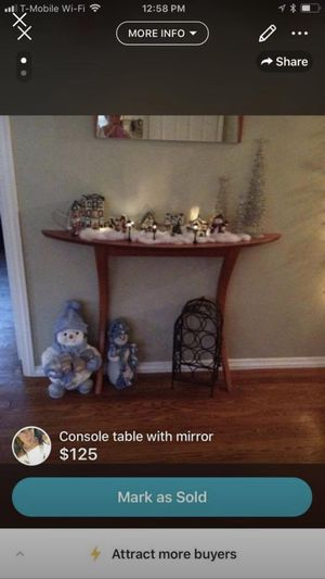 Console table made in Italy for Sale in Toms River, NJ