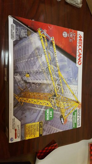 Erector meccano construction set for Sale in Appleton, WI