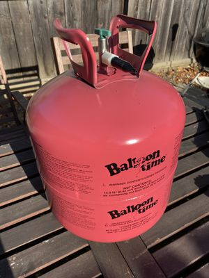 Jumbo helium tank and balloons for Sale in Santa Clara, CA