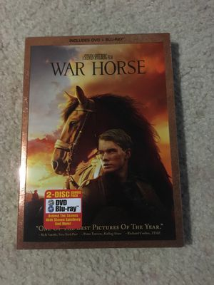 War Horse DVD and Blue Ray for Sale in Silver Spring, MD