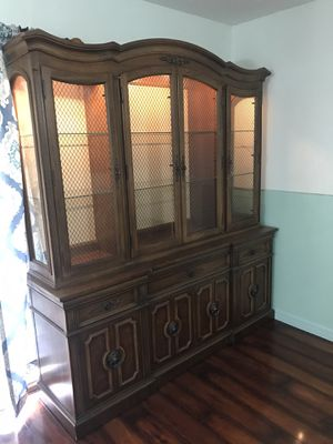 Beautiful Antique China Cabinet for Sale in Tampa, FL