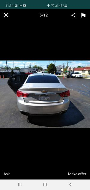 Chevy impala 2015 v6 fully loaded for Sale in District Heights, MD