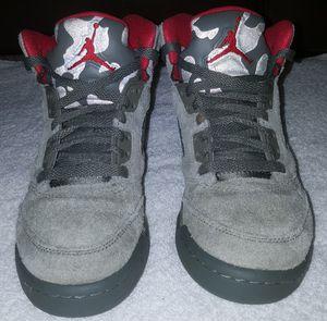 "Nike Air Jordan Retro 5 ""camo""/ Size 4 for Sale in Atlanta, GA"