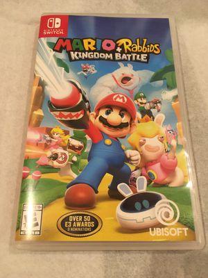 Mario & Rabbids Kingdom Battle for Nintendo Switch for Sale in Las Vegas, NV