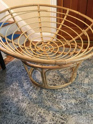 Prior One Papasan chair natural for Sale in Milton, MA