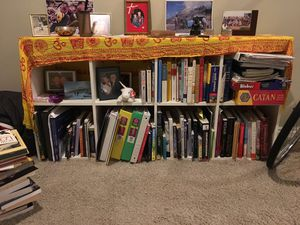 White ikea bookcase for Sale in Cottonwood Heights, UT