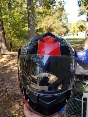 Motorcycle Helmet Red/Black Design for Sale in Durham, NC