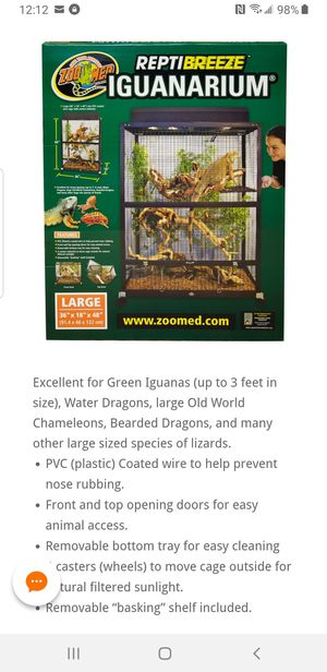 Iguana cage large for Sale in Ruskin, FL