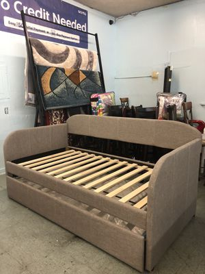 ✅Brand New DayBed Frame with trundle bed Only $299, No Credit Needed Finance for Sale in Elk Grove, CA