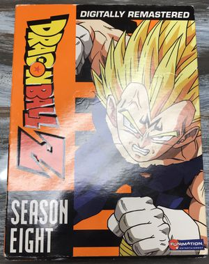 Dragon Ball Z season 8 - dvd set, like new-never played for Sale in Bradenton, FL
