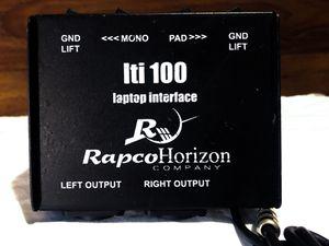 RapcoHorizon LTI-1 Stereo Laptop Interface for Sale in Austin, TX