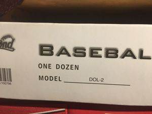 Balls baseball practice batting box of 12 diamonds for Sale in Laurel, MD