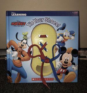 Disney Tie Shoe Book for Sale in Los Angeles, CA