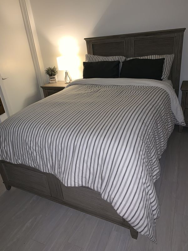 Bed set - bed + tables (used 5 times)