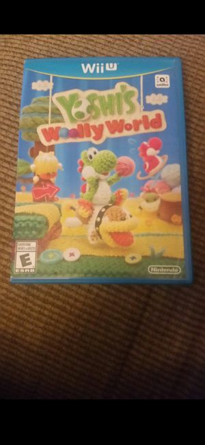 NINTENDO WII U YOSHIS WOOLY WORLD 100%💥💥 for Sale in Escondido, CA