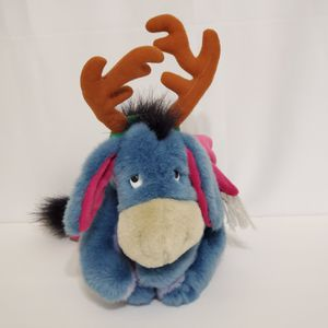 "Disney Reindeer Eeyore Sleeper Plush Donkey 13"" Soft Toy Winnie The Pooh for Sale in La Grange Park, IL"