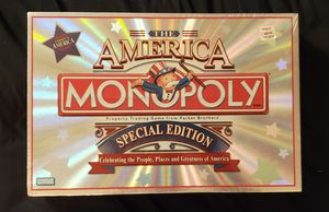 Monoply – America Special Edition (NEW) for Sale in Whiting, IN