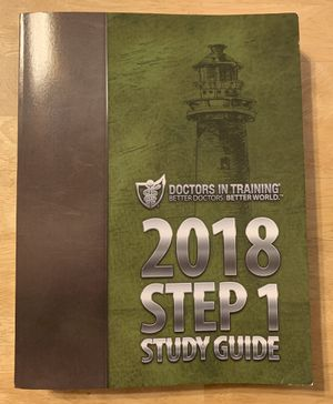 DIT 2018 Step 1 Study Guide for Sale in Etiwanda, CA