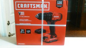 Craftsman 20v drill for Sale in Gulfport, MS