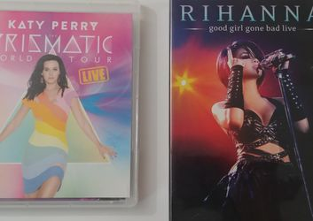 Katy Perry + Rihanna Concert DVD for Sale in Moreno Valley,  CA