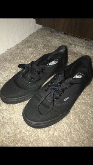 Black vans for Sale in Mukilteo, WA