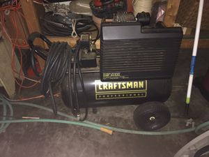Craftsman air compressor for Sale in Edwardsville, IL