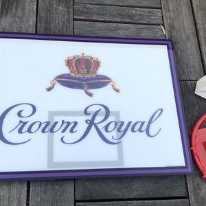 Crown Royal LED Light/ Mini Basketball Backboard & Rim for Sale in Orange, CA