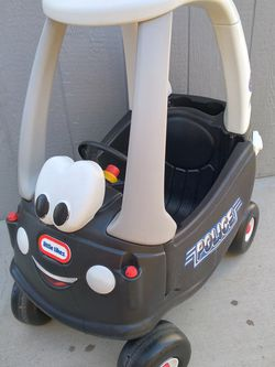 Like New Police Push Car Kids With Feet Support. for Sale in Riverside,  CA
