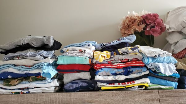 50+ pieces baby clothes