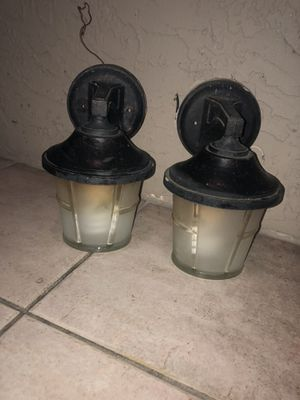 Set of outdoor lights. for Sale in Sarasota, FL