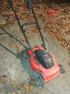 Lawn mower electric 18 inch electric mulching mower. Works great. 300 other items. look under sellers other items for Sale in Atlanta, GA