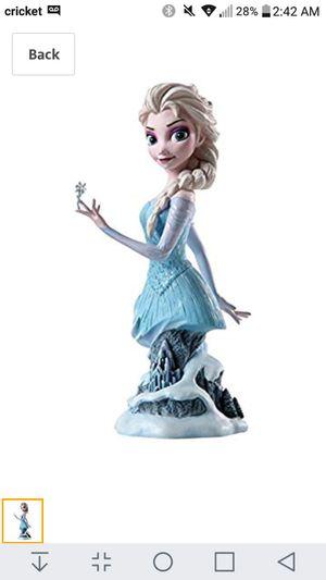 Enesco #4042562 Frozen Elsa Figurine Disney Grand Jester Studios - New for Sale in Lacey, WA