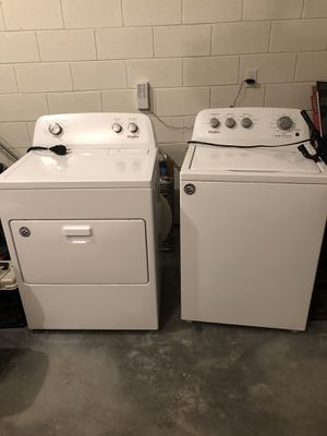 Whirlpool Washer and Dryer new and never used for Sale in New Smyrna Beach, FL