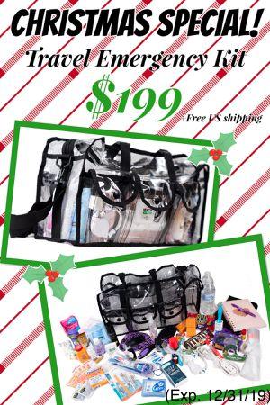 Travel Emergency Kit *Christmas SALE* for Sale in Bentonville, AR
