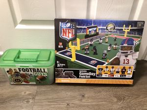 NFL Lego set and Exclusive College Football Hall of Fame football set for Sale in Atlanta, GA