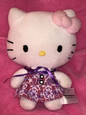 Hello Kitty circus carnival dress plush doll toy 🥳😍$6 sale! for Sale in Phoenix, AZ