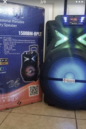 Battety speaker's New $125 for Sale in Palmdale, CA