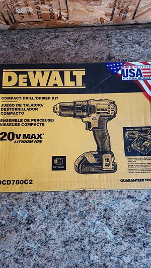Dewalt 20v drill kit brand new unopened $75 FIRM NO OFFERS for Sale in Fresno, CA