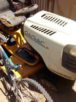 Cub cadet super LT 1550 for Sale in Phoenix, AZ