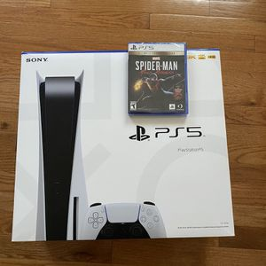 PS5 w/ Spiderman Miles Morales Ult. Edition for Sale in Alexandria, VA
