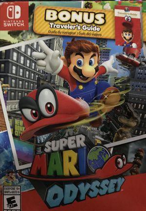 Super Mario odyssey Nintendo switch for Sale in Houston, TX